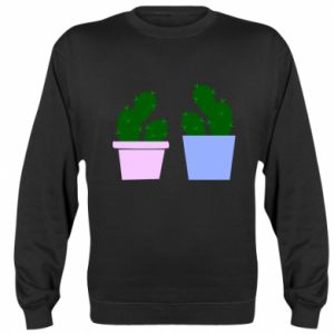 Sweatshirt Two large cacti