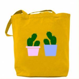 Bag Two large cacti