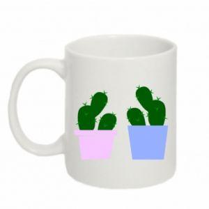 Mug 330ml Two large cacti