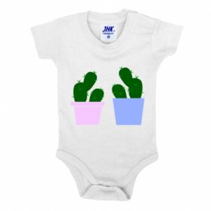 Baby bodysuit Two large cacti