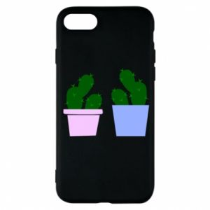 Phone case for iPhone 7 Two large cacti