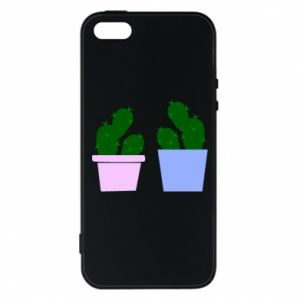 Phone case for iPhone 5/5S/SE Two large cacti
