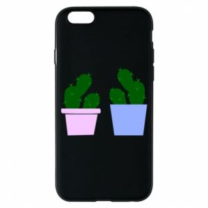 Phone case for iPhone 6/6S Two large cacti