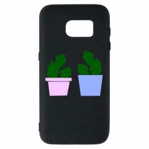 Phone case for Samsung S7 Two large cacti