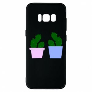Phone case for Samsung S8 Two large cacti