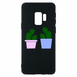 Phone case for Samsung S9 Two large cacti