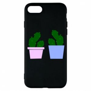 Phone case for iPhone 8 Two large cacti