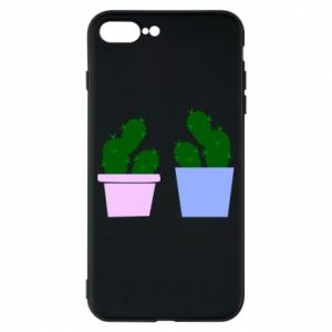 Phone case for iPhone 8 Plus Two large cacti