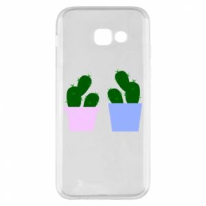 Phone case for Samsung A5 2017 Two large cacti
