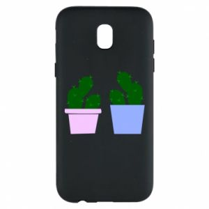Phone case for Samsung J5 2017 Two large cacti