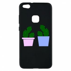 Phone case for Huawei P10 Lite Two large cacti