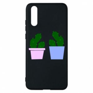 Phone case for Huawei P20 Two large cacti