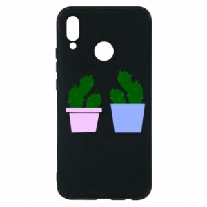Phone case for Huawei P20 Lite Two large cacti