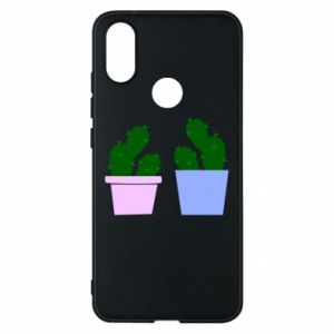 Phone case for Xiaomi Mi A2 Two large cacti
