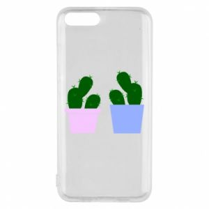 Phone case for Xiaomi Mi6 Two large cacti