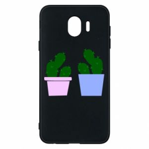 Phone case for Samsung J4 Two large cacti