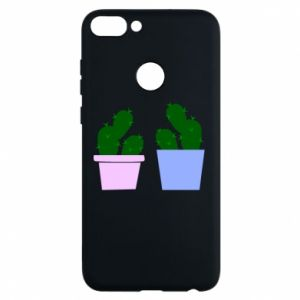Phone case for Huawei P Smart Two large cacti