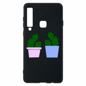 Phone case for Samsung A9 2018 Two large cacti