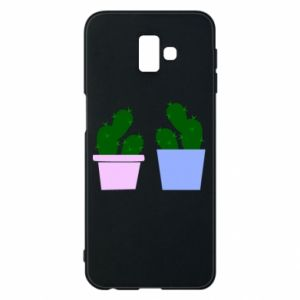 Phone case for Samsung J6 Plus 2018 Two large cacti