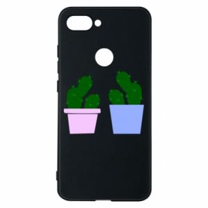 Phone case for Xiaomi Mi8 Lite Two large cacti