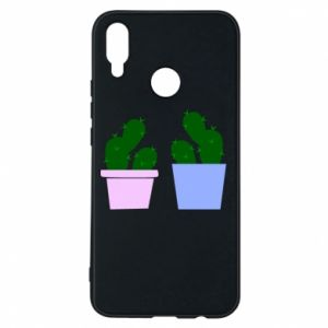 Phone case for Huawei P Smart Plus Two large cacti