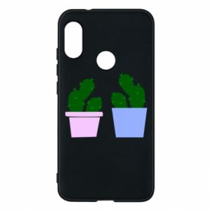 Phone case for Mi A2 Lite Two large cacti