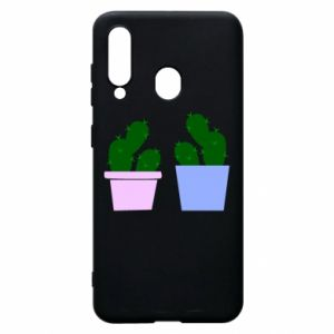 Phone case for Samsung A60 Two large cacti