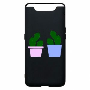 Phone case for Samsung A80 Two large cacti