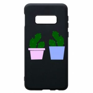 Phone case for Samsung S10e Two large cacti