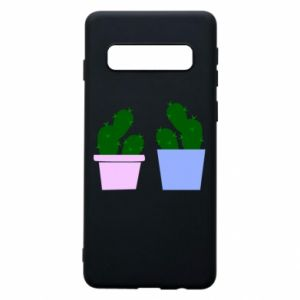 Phone case for Samsung S10 Two large cacti