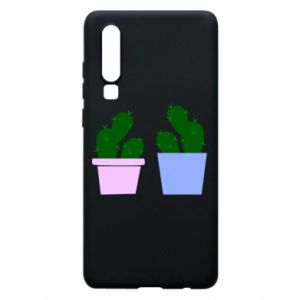 Phone case for Huawei P30 Two large cacti