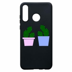 Phone case for Huawei P30 Lite Two large cacti