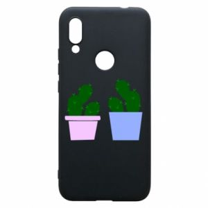 Phone case for Xiaomi Redmi 7 Two large cacti