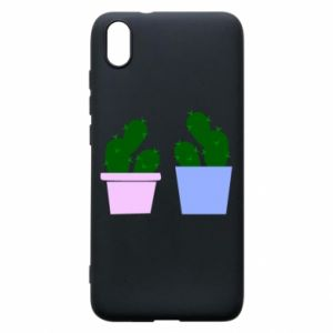 Phone case for Xiaomi Redmi 7A Two large cacti