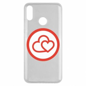 Huawei Y9 2019 Case Two hearts