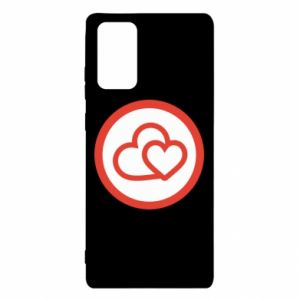 Samsung Note 20 Case Two hearts