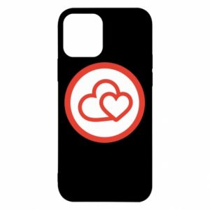 iPhone 12/12 Pro Case Two hearts