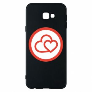 Phone case for Samsung J4 Plus 2018 Two hearts
