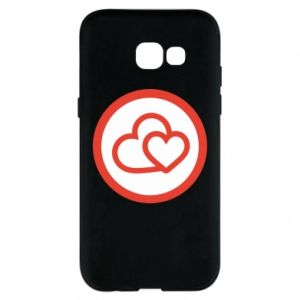 Phone case for Samsung A5 2017 Two hearts