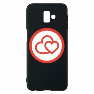 Phone case for Samsung J6 Plus 2018 Two hearts