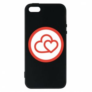 iPhone 5/5S/SE Case Two hearts