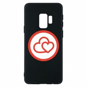 Samsung S9 Case Two hearts