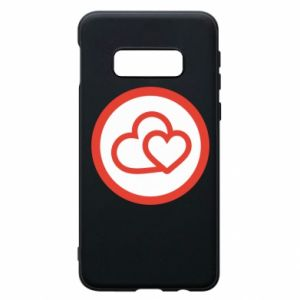 Samsung S10e Case Two hearts
