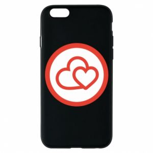 iPhone 6/6S Case Two hearts