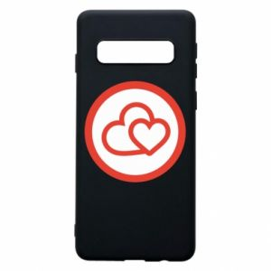 Samsung S10 Case Two hearts