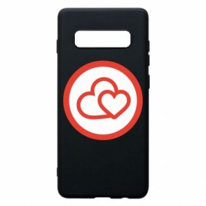 Samsung S10+ Case Two hearts