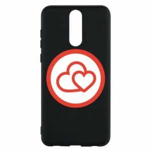 Huawei Mate 10 Lite Case Two hearts
