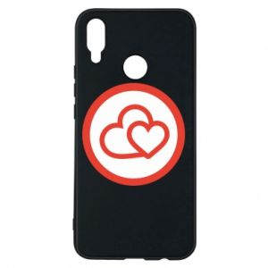 Huawei P Smart Plus Case Two hearts
