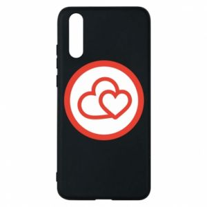 Huawei P20 Case Two hearts