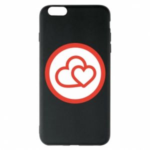 iPhone 6 Plus/6S Plus Case Two hearts